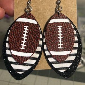Modern Mack & Jazzy Jax Designs Jewelry - Made to Order Custom Color Football Earrings